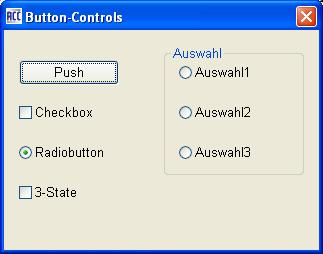 Button-Controls mit Acc-Cobol